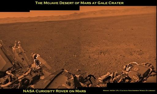 Klicken Sie auf die Grafik für eine größere Ansicht  Name:Curiosity-Mojave-Desert-Pano-b_Ken-Kremer-580x348.jpg Hits:58 Größe:61,5 KB ID:1008